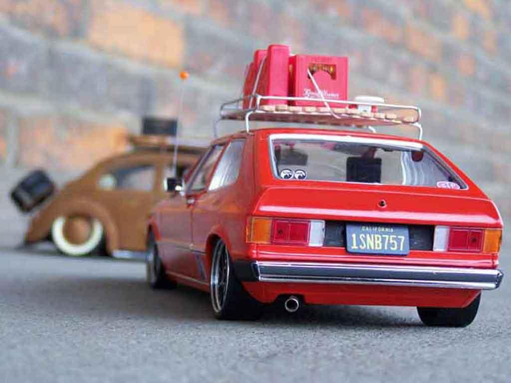 Volkswagen Scirocco GTI 1/18 Revell restocal