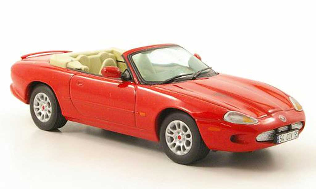 Jaguar XKR Cabriolet 1/43 Vitesse (X100) Convertible rouge LHD 1998 miniature