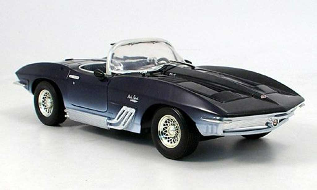 chevrolet corvette shark mako blau 1961 motormax. Black Bedroom Furniture Sets. Home Design Ideas