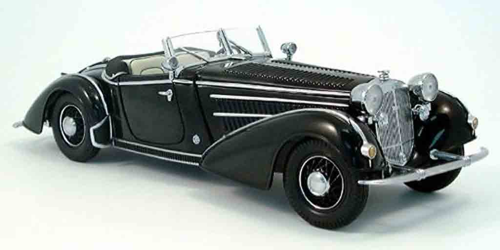 Horch 855 1/18 Sun Star special roadster noir 1939 miniature