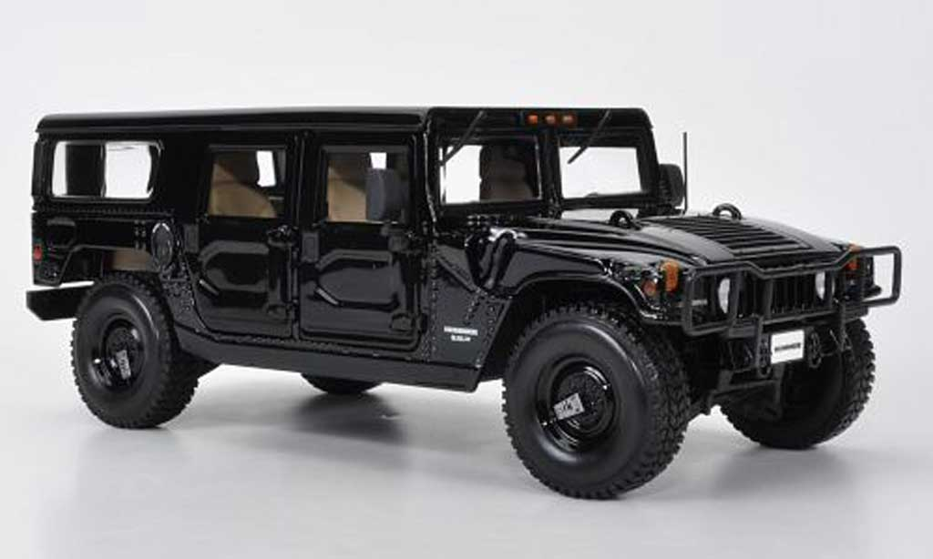 hummer h1 station wagon schwarz maisto modellauto 1 18 kaufen verkauf modellauto online. Black Bedroom Furniture Sets. Home Design Ideas