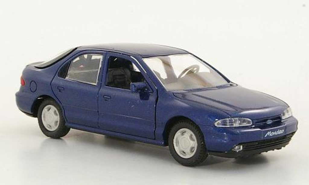 Ford Mondeo 1/43 Gama MKI Fliessheck bleu miniature