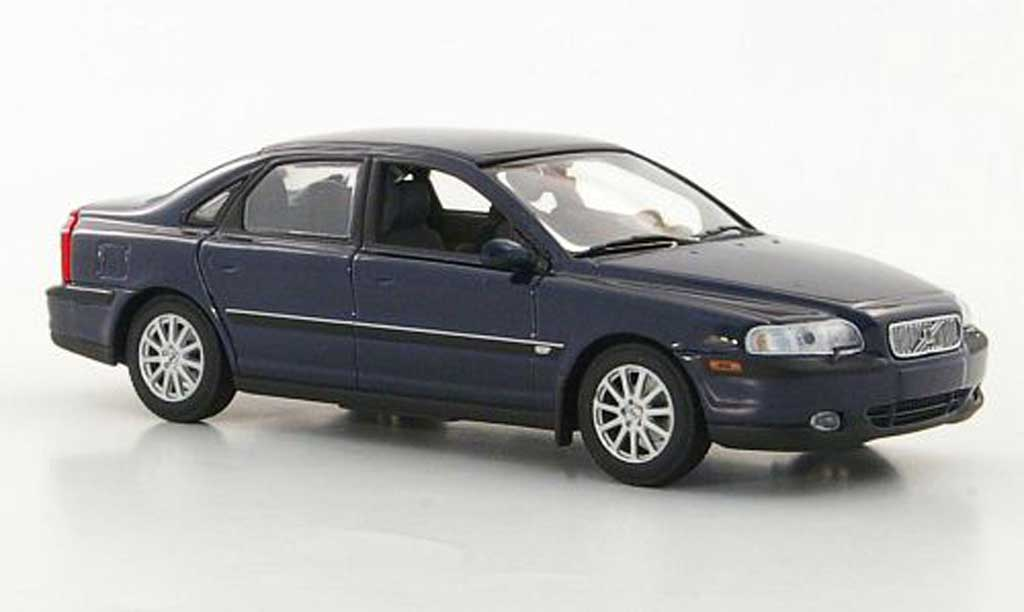 Volvo S80 blue Minichamps. Volvo S80 blue miniature 1/43