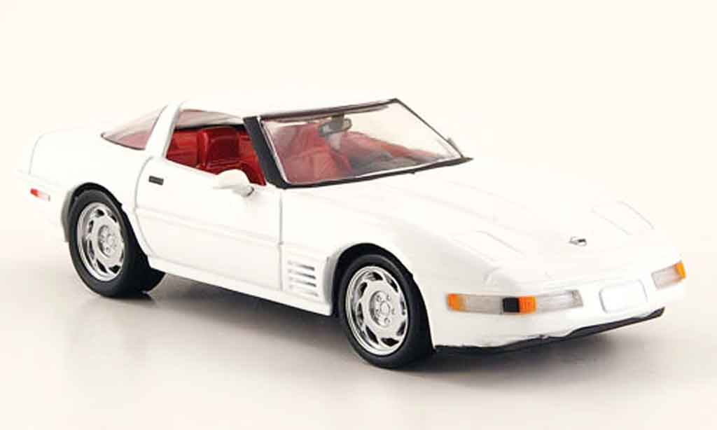 Chevrolet Corvette ZR1 1/43 Detail Cars Coupe weiss modellautos