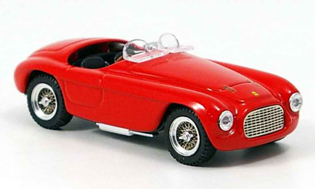 Ferrari 166 1/43 Art Model Spider mm rouge miniature