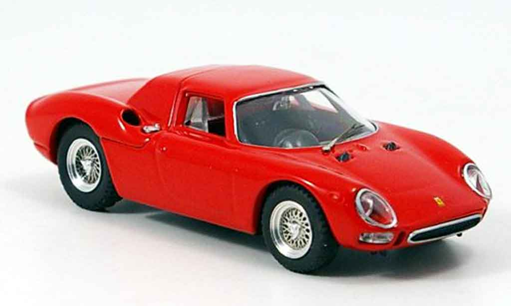 Ferrari 250 LM 1/43 Best prova rouge miniature
