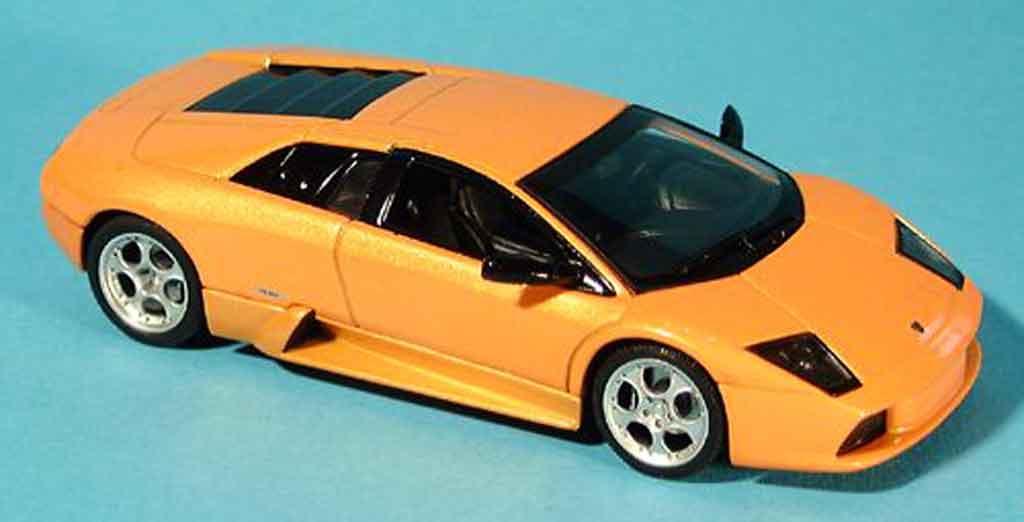 Lamborghini Murcielago 1/43 Autoart orange  2001 miniature