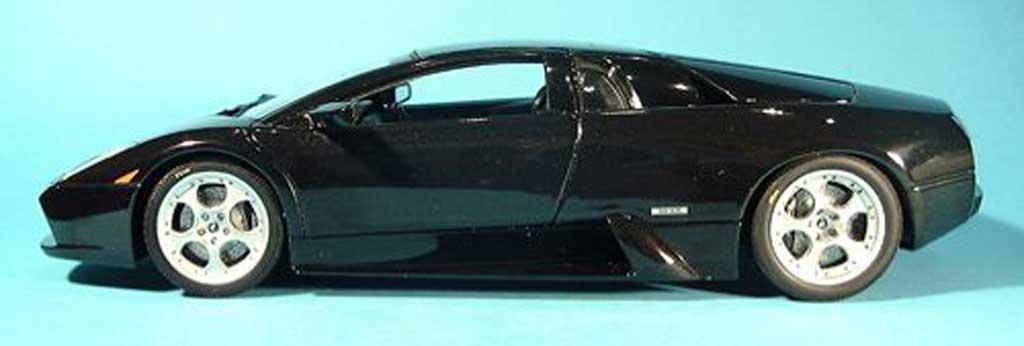 Lamborghini Murcielago black 2001 Autoart. Lamborghini Murcielago black 2001 miniature 1/18