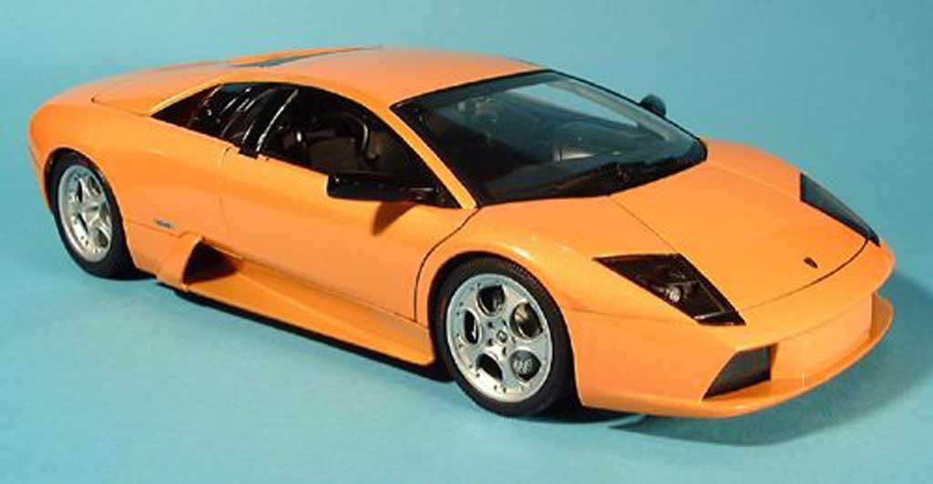 Lamborghini Murcielago 1/18 Autoart orange 2001 miniature