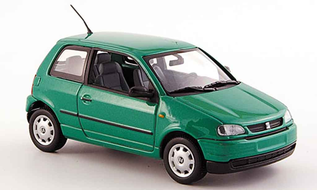 Seat Arosa 1/43 Minichamps verte 1997 miniature