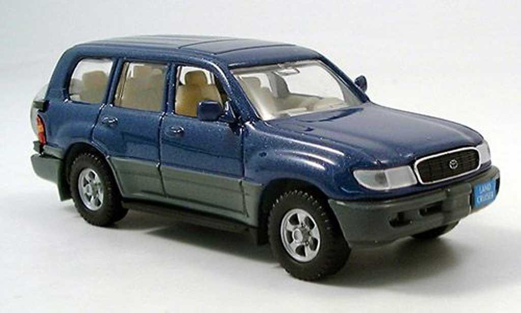 Toyota Land Cruiser 1/43 Yat Ming VX.R bleu miniature
