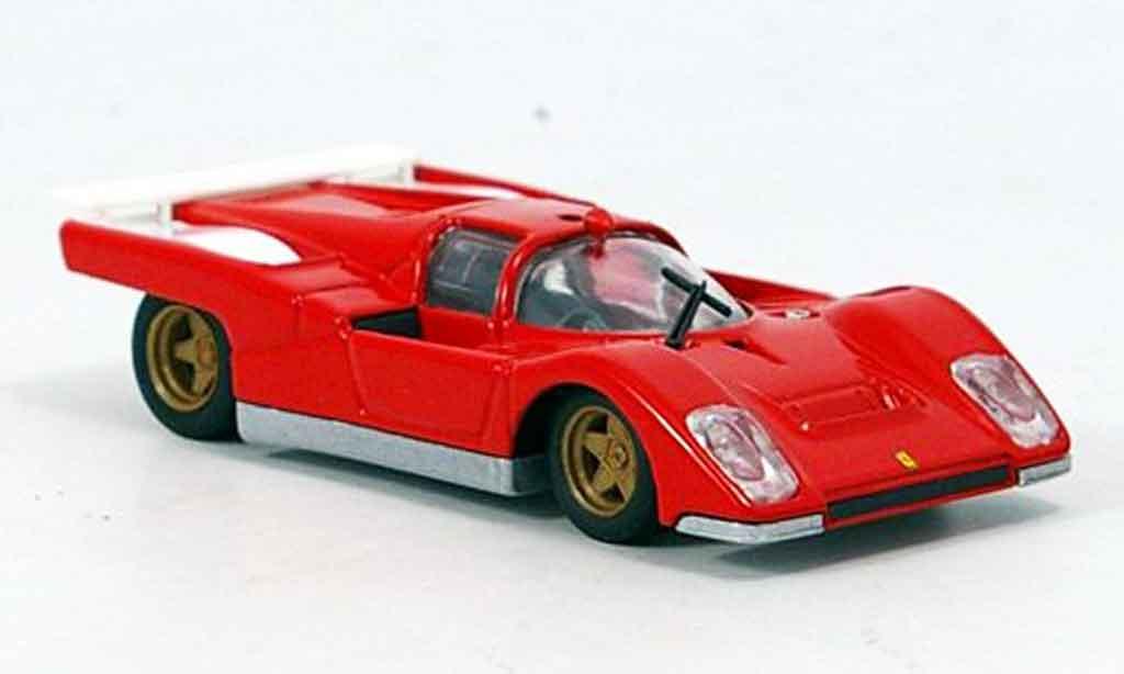 Ferrari 512 M 1/43 Brumm prougeotyp 1970 miniature