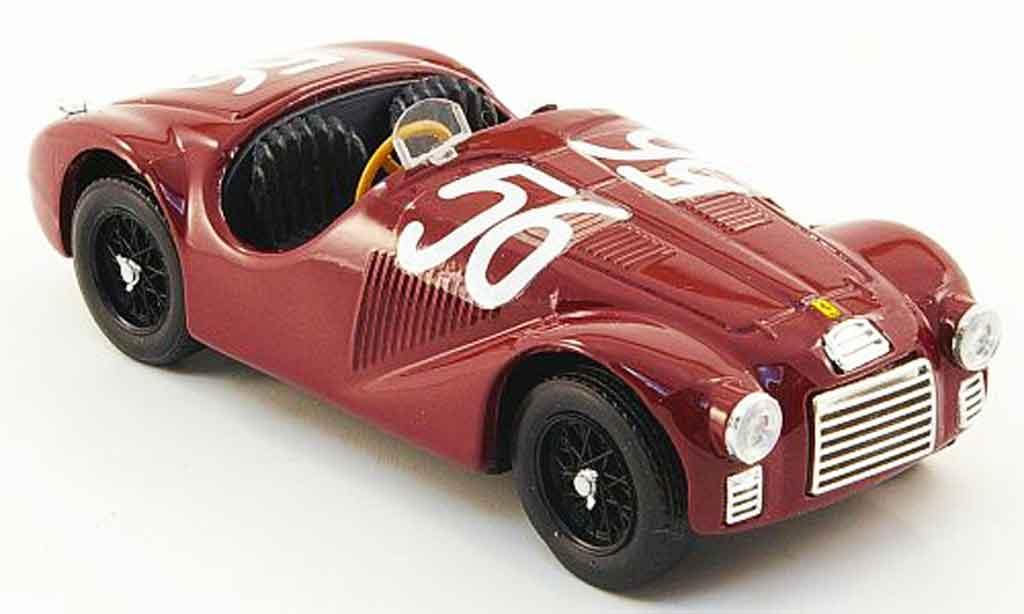 Ferrari 125 1/43 Brumm 125s no.56 f.cortese premio di roma 1947 miniature