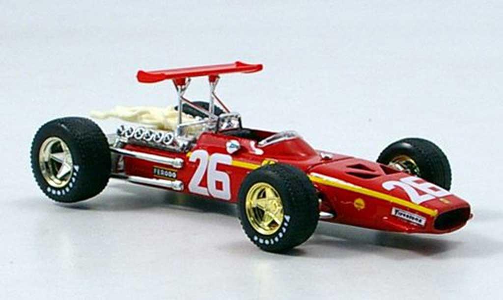 Ferrari 312 F1 1/43 Brumm Jacky Ickx 1968 miniature