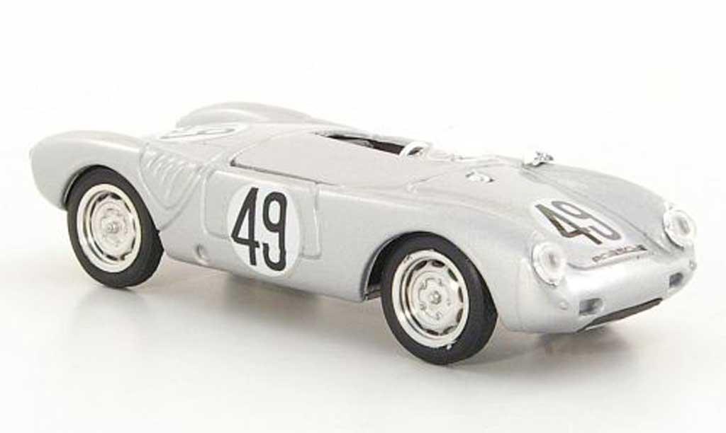 Porsche 550 1955 1/43 Brumm 1500/ No.49 24h Le Mans miniature