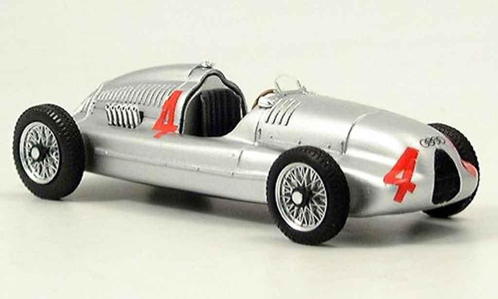 Auto Union Typ D 1/43 Brumm Tazio Nuvolari 1938 miniature