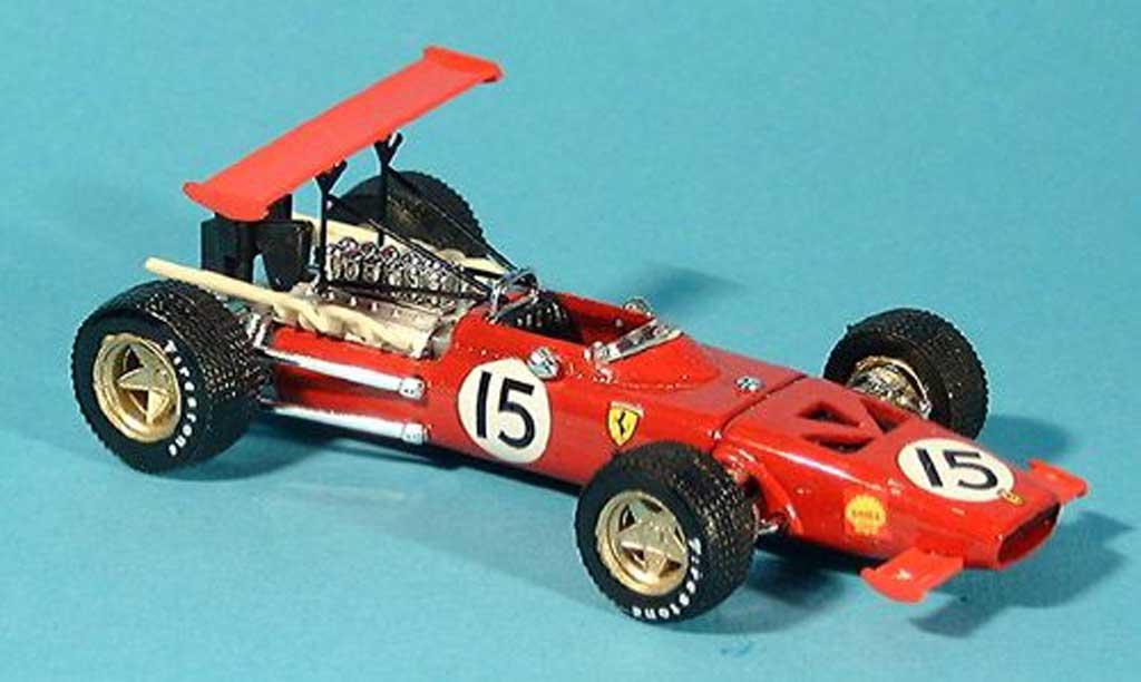 Ferrari 312 F1 1/43 Brumm No.15 C.Amon GP Spanien 1969 miniature