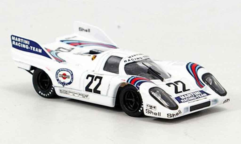 Porsche 917 1971 1/43 Brumm Martin Racing Team 1? Marko van Lennep miniature