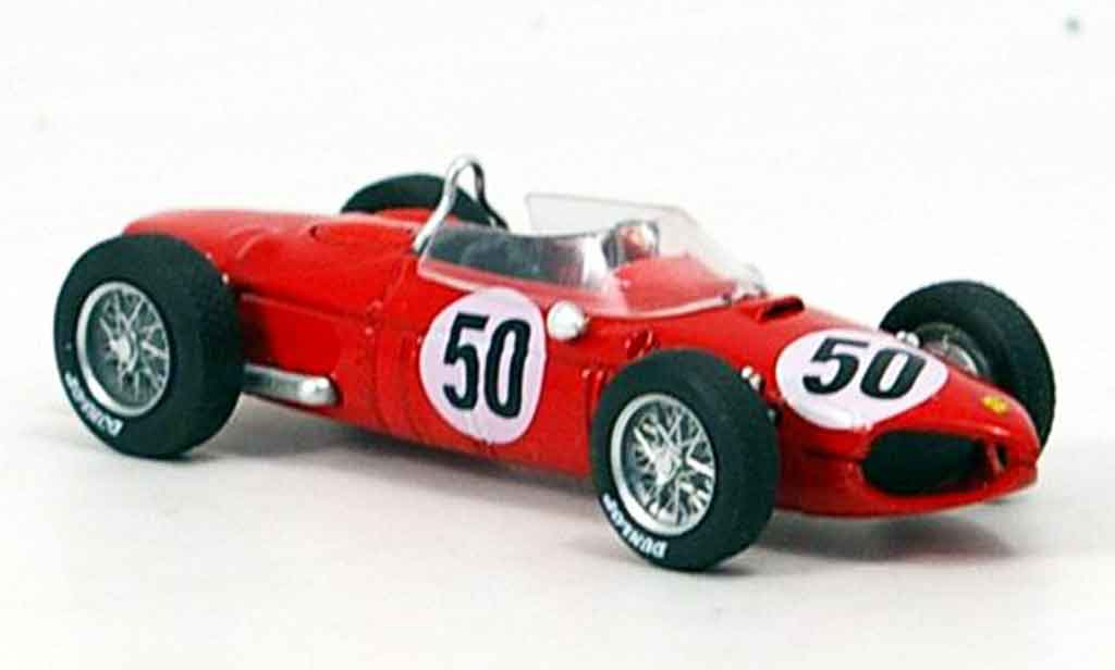 Ferrari 156 1961 1/43 Brumm f1 no.50 baghetti sieger gp frankreich miniature