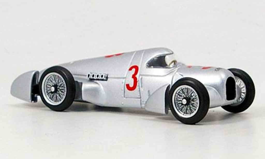 Auto Union Rekordwagen 1935 1/43 Brumm 1935 Record grise metallisee 1935 miniature
