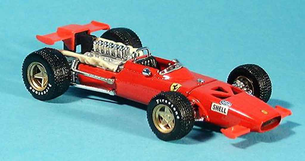 Ferrari 312 F1 1/43 Brumm chris amon 1969