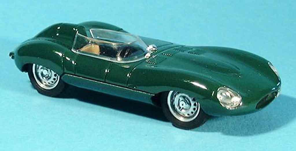 Jaguar D-Type 1954 1/43 Brumm 1954 grun miniature