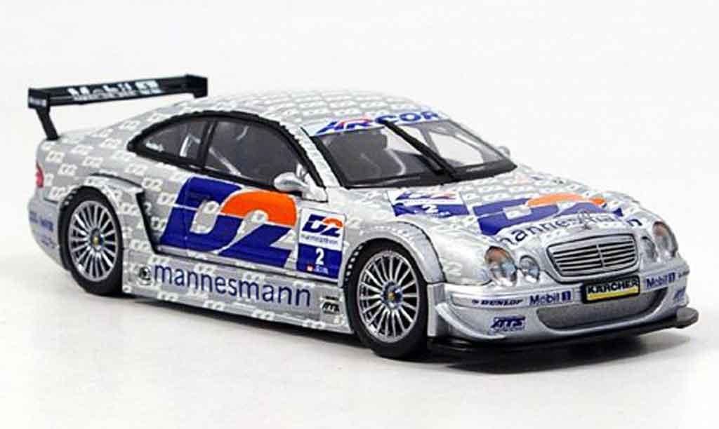 Mercedes Classe CLK DTM 1/43 Autoart Team D2 2000 miniature