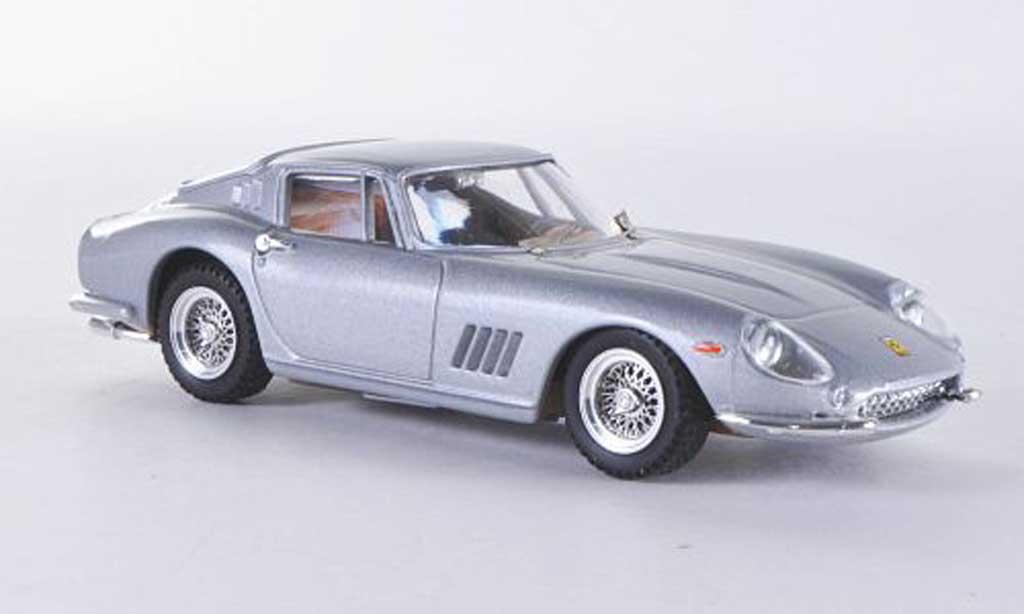 Ferrari 275 1/43 Best grise GTB/4 miniature