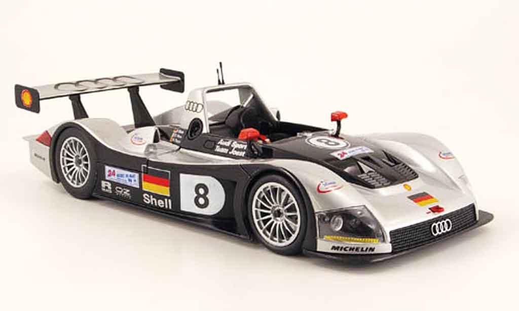 Audi R8 Le Mans 1/18 Maisto r rr no.8 team joest 1999 miniature
