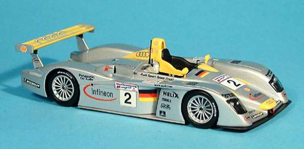 Audi R8 1/43 Minichamps Sport North Amerika 2001 miniature