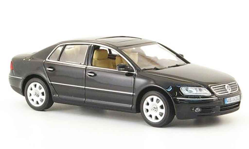 volkswagen phaeton schwarz 2002 minichamps modellauto 1 43 kaufen verkauf modellauto online. Black Bedroom Furniture Sets. Home Design Ideas