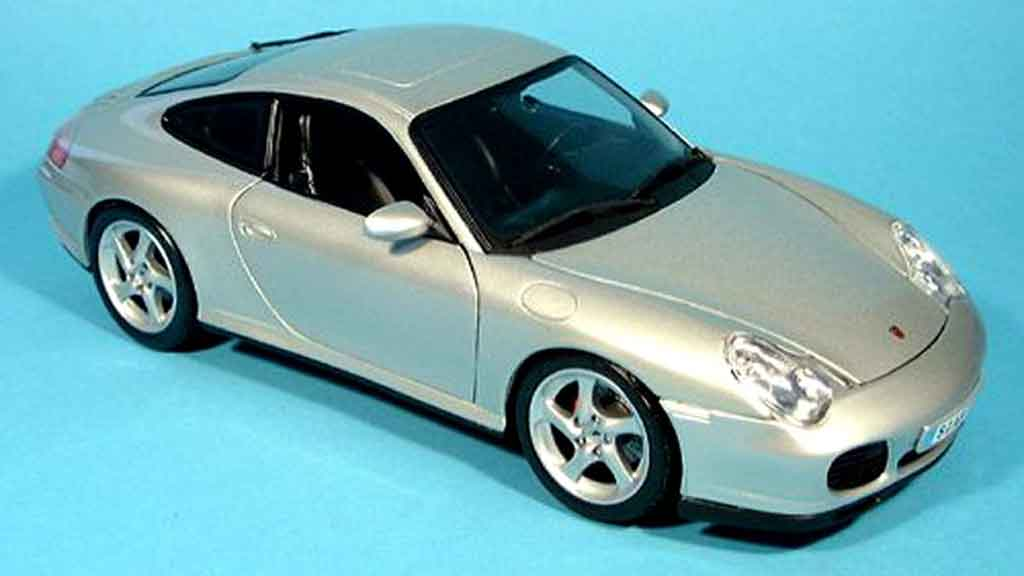 porsche 996 carrera 4s grau maisto modellauto 1 18 kaufen verkauf modellauto online. Black Bedroom Furniture Sets. Home Design Ideas