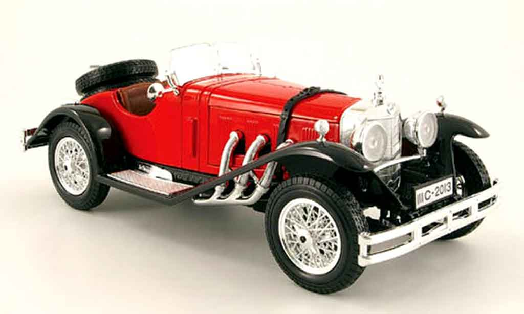 Mercedes ssk red black burago diecast model car 1 18 buy for Mercedes benz ssk 1928 burago