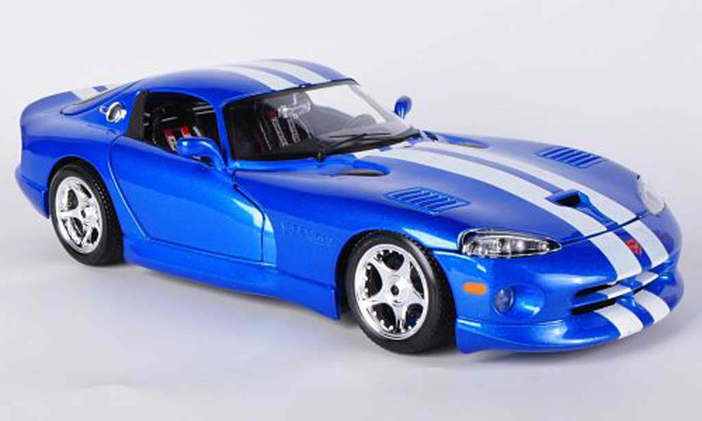dodge viper gts coupe blau 1996 burago modellauto 1 18. Black Bedroom Furniture Sets. Home Design Ideas