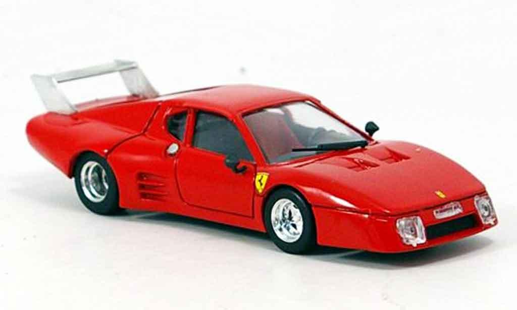 Ferrari 512 BB 1/43 Brumm prougeotyp le mans 1980 miniature