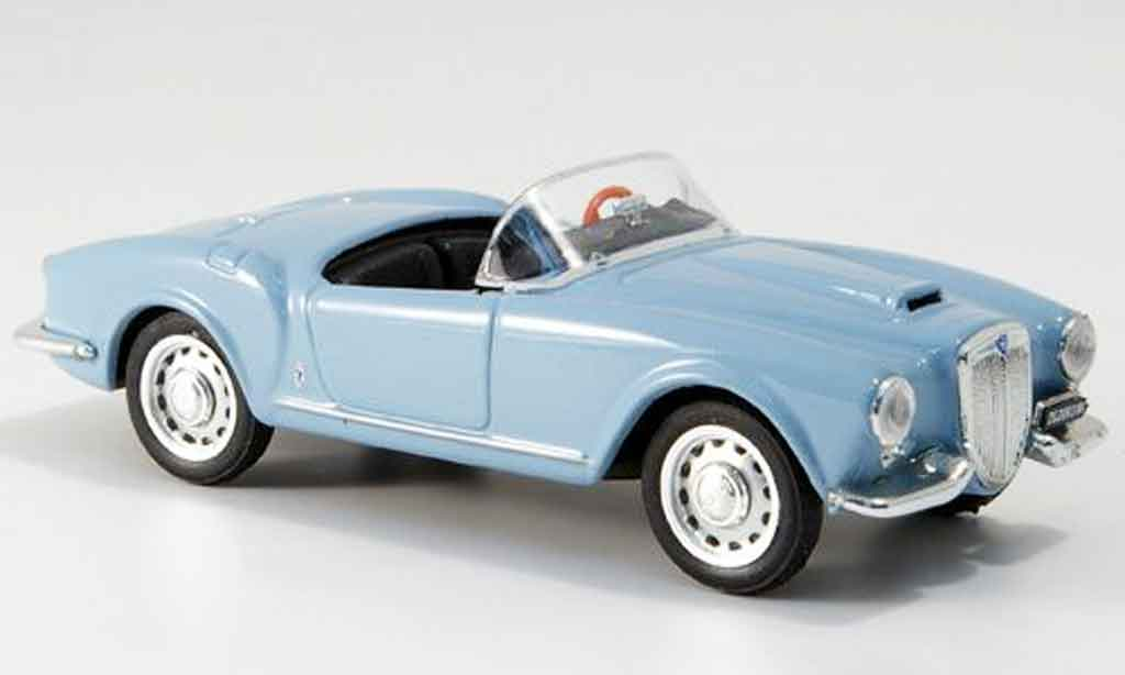 Lancia Aurelia B24 1/43 Brumm spider bleu offen 1956 miniature