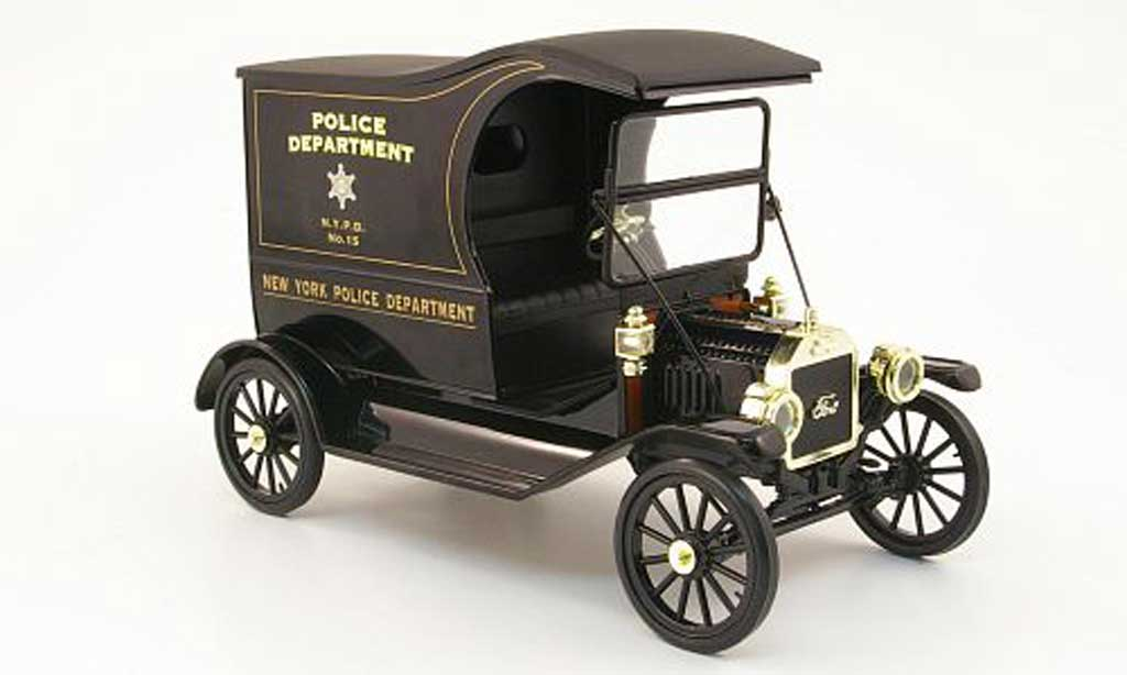 Ford Model T 1/18 Eagle delivery van new york police department polizei (us) miniature