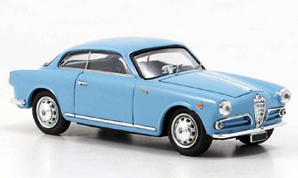 Alfa Romeo Giulietta Sprint 1/43 Bang bleu 1954