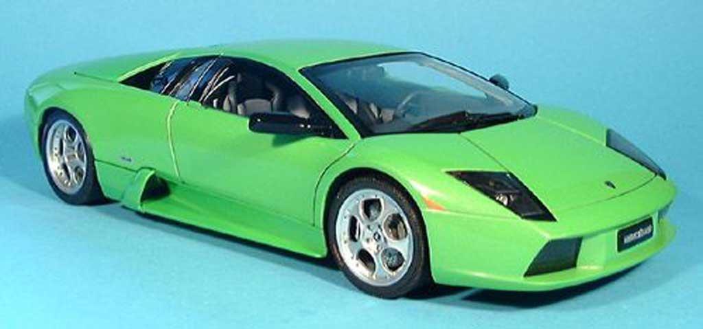 Lamborghini Murcielago green 2001 Autoart. Lamborghini Murcielago green 2001 miniature 1/18