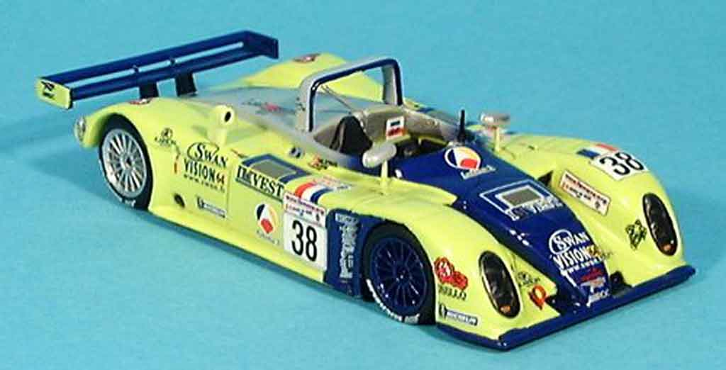 Reynard 2KQ 1/43 Spark Le Mans 5ter Deletraz Fabre Gene 2001 diecast model cars