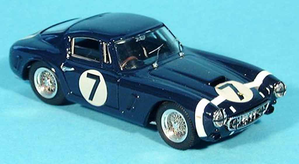 Ferrari 250 GT 1961 1/43 Bang swb tourist trophy stirling moos no. 7 miniature