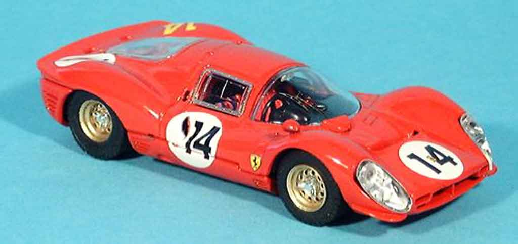 Ferrari 330 P3 1/43 Bang 1.000 km monza surtees parkes no.14 1966 miniature