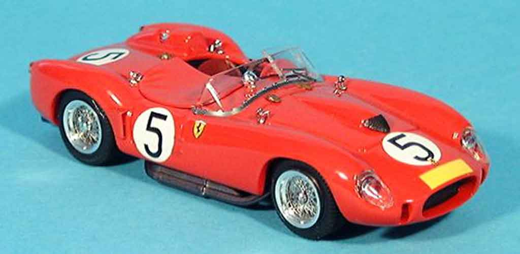 Ferrari 250 TR 1958 1/43 Bang nurburgring luigi musso miniature