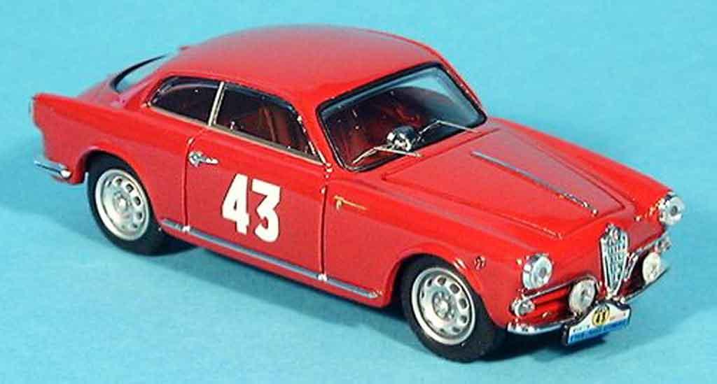 Alfa Romeo Giulietta 1/43 Bang no.43 sc vidilles tour de france 1956 miniatura