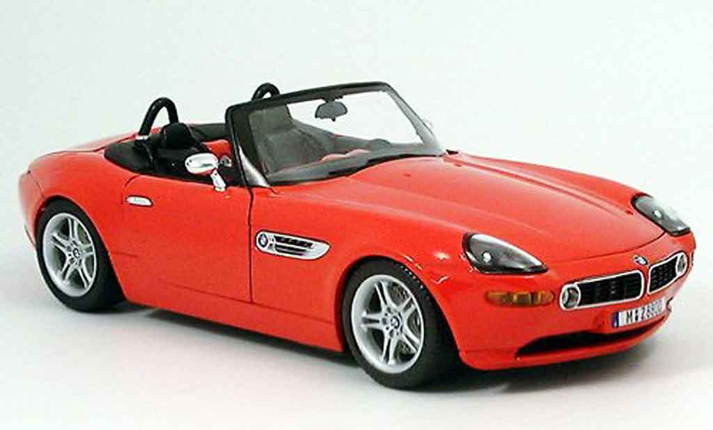 Bmw Z8 Red Burago Diecast Model Car 1 18 Buy Sell