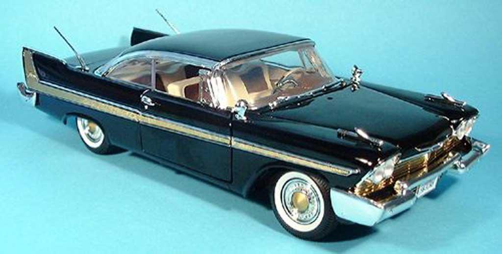 Plymouth Fury 1/18 Motormax noire 1958 miniature