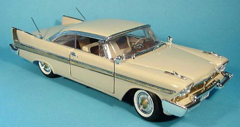 plymouth fury beige 1958 motormax modellauto 1 18 kaufen. Black Bedroom Furniture Sets. Home Design Ideas