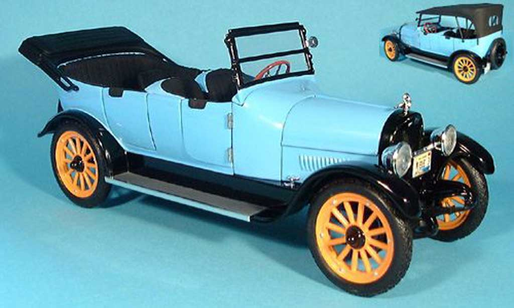 Reo Touring 1/18 Signature bleu 1917 miniature