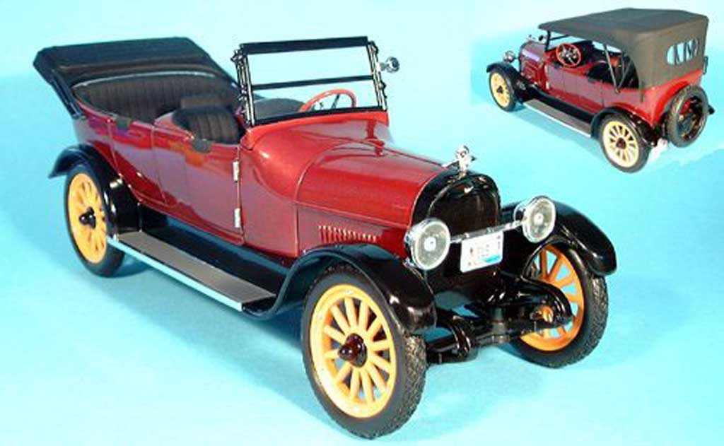 Reo Touring 1/18 Signature rouge 1917 miniature