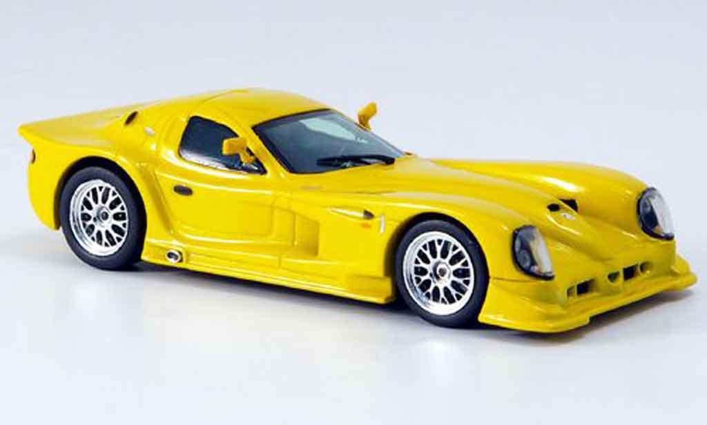 Panoz Esperante 1/43 Vitesse Street yellow diecast model cars